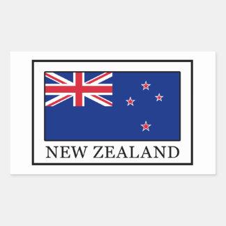 New Zealand Rectangular Sticker
