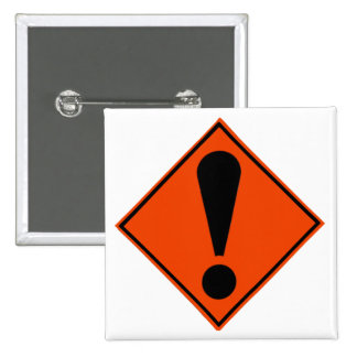 New Zealand Road Signs 15 Cm Square Badge