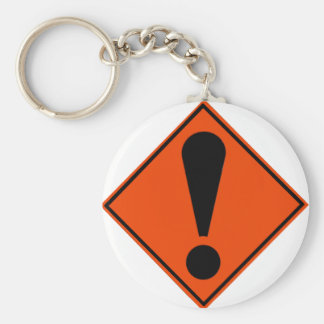 New Zealand Road Signs Key Ring