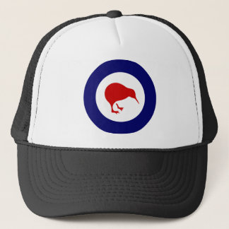 new zealand roundel kiwi trucker hat