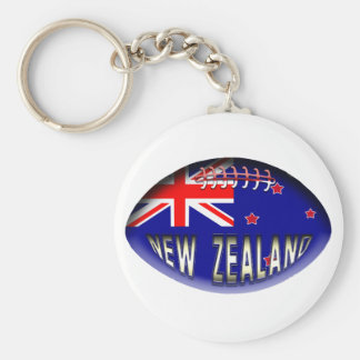 New Zealand Rugby Ball Key Chains