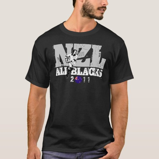 New Zealand Rugby NZL All Blacks T-Shirt 3
