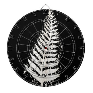 New Zealand SIlver Fern Christmas Tree Dartboard