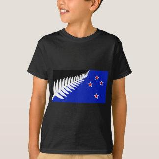 New Zealand Silver Fern Flag T-Shirt