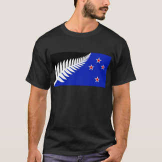 New Zealand Silver Fern Flag T-Shirt
