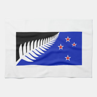 New Zealand Silver Fern Flag Tea Towel