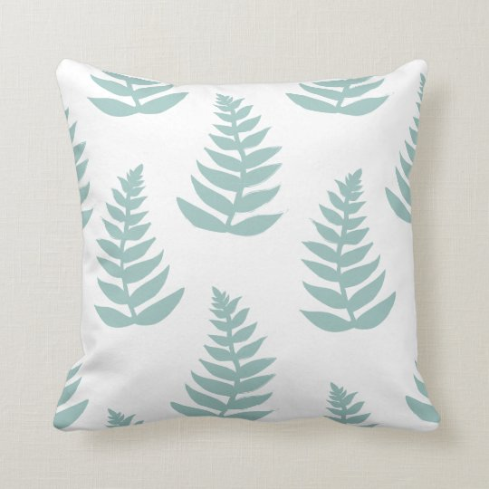 New Zealand Silver Fern Pillow Cushion