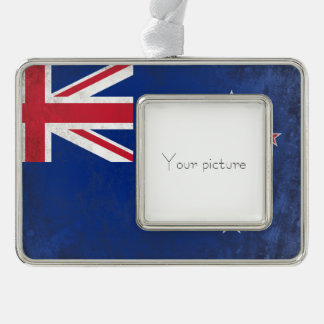 New Zealand Silver Plated Framed Ornament