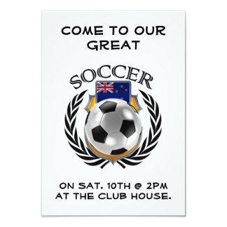 New Zealand Soccer 2016 Fan Gear 9 Cm X 13 Cm Invitation Card
