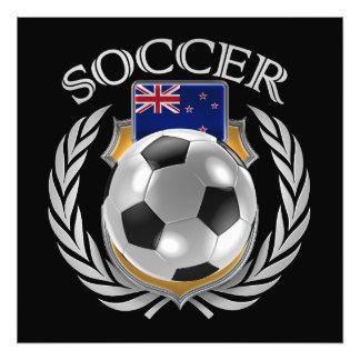 New Zealand Soccer 2016 Fan Gear Art Photo