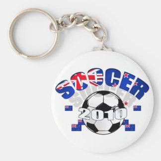 New Zealand Soccer Celebration Key Chains