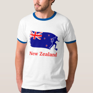 New Zealand  Soccer Flag T-Shirt