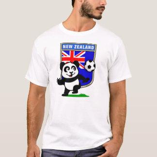 New Zealand Soccer Panda (light shirts) T-Shirt