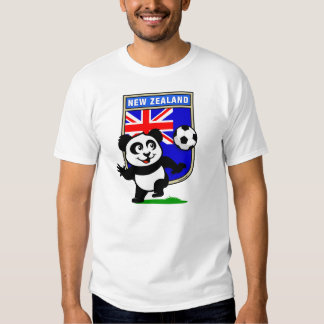 New Zealand Soccer Panda (light shirts) Tee Shirts