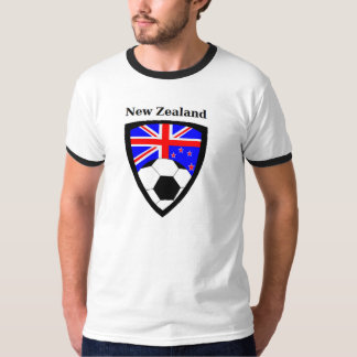 New Zealand Soccer T Shirts