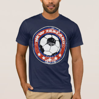 New Zealand Soccer T-Shirts (distressed)