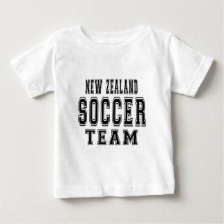 New Zealand Soccer Team Baby T-Shirt