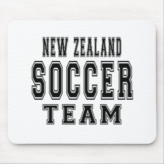New Zealand Soccer Team Mouse Pad