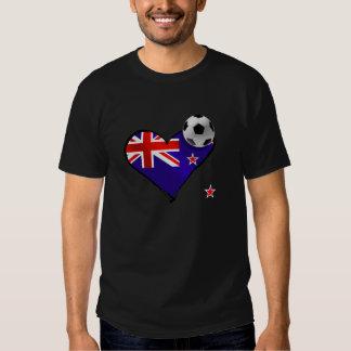 New Zealand Soccer Tee Shirt