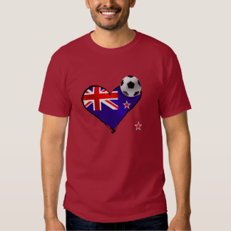New Zealand Soccer Tshirts