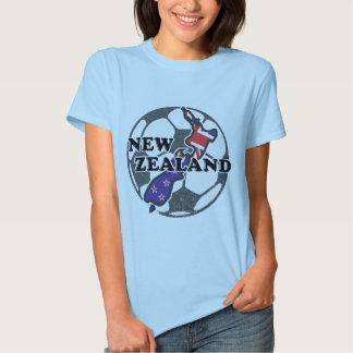 New Zealand Soccer Womens T-Shirt