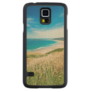New Zealand, South Island, Catlins, Tautuku Bay Carved Maple Galaxy S5 Case