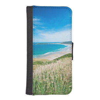 New Zealand, South Island, Catlins, Tautuku Bay iPhone SE/5/5s Wallet Case