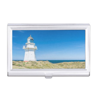 New Zealand, South Island, Catlins, Waipapa Business Card Holder