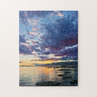 New Zealand, South Island, Kaikoura, South Bay Jigsaw Puzzles