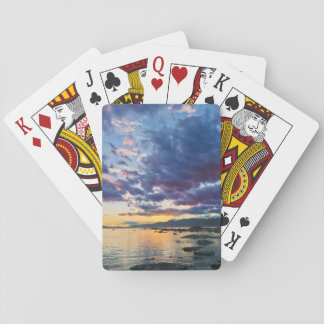 New Zealand, South Island, Kaikoura, South Bay Playing Cards