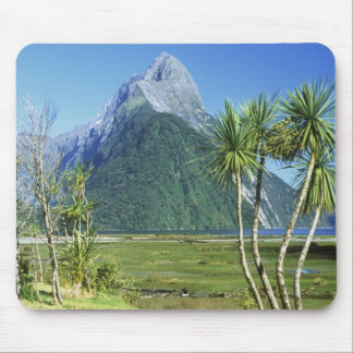 New Zealand, South Island,  Mitre Peak, Mouse Pad