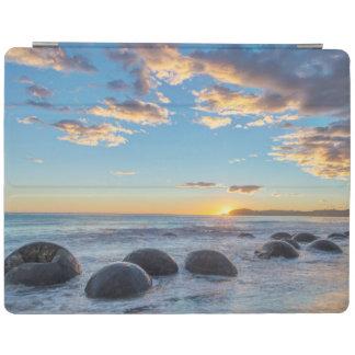 New Zealand, South Island, Moeraki Boulders iPad Cover