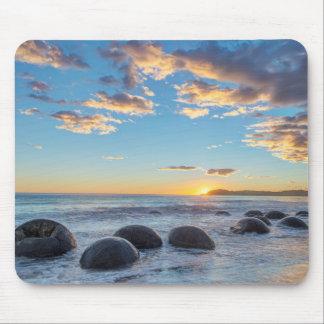 New Zealand, South Island, Moeraki Boulders Mouse Pad