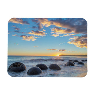 New Zealand, South Island, Moeraki Boulders Rectangular Photo Magnet