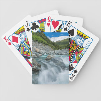 New Zealand, South Island, Mt. Aspiring National Bicycle Playing Cards