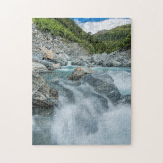 New Zealand, South Island, Mt. Aspiring National Jigsaw Puzzle