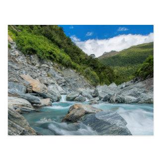 New Zealand, South Island, Mt. Aspiring National Postcard
