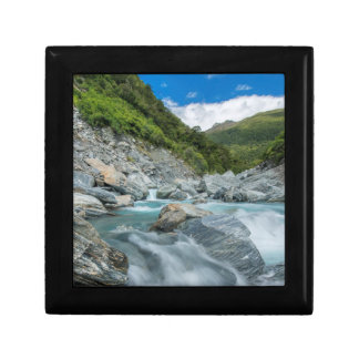 New Zealand, South Island, Mt. Aspiring National Small Square Gift Box