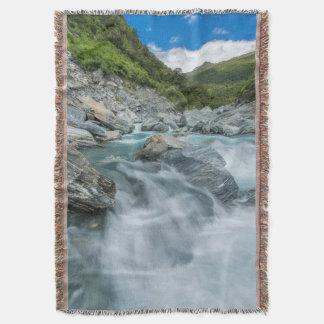 New Zealand, South Island, Mt. Aspiring National Throw Blanket