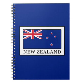 New Zealand Spiral Notebooks