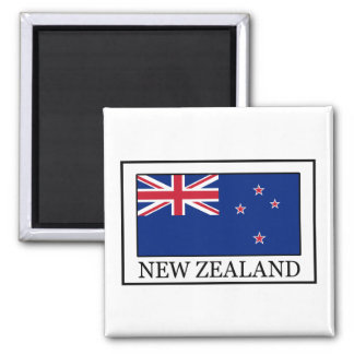 New Zealand Square Magnet