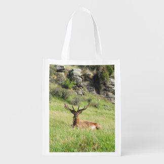 New Zealand Stags Reusable Grocery Bag