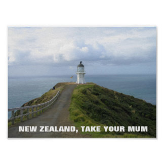 New Zealand, Take Your Mum- FOTC Poster