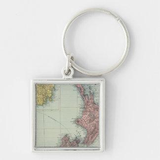 New Zealand, Tasmania, Fiji Key Ring