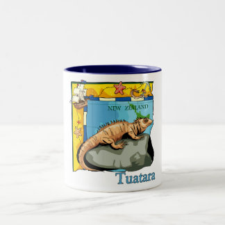 New Zealand Tuatara Mugs
