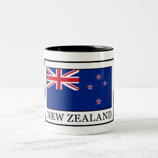 New Zealand Two-Tone Coffee Mug