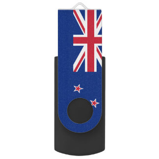 New Zealand USB Swivel Flash Drive