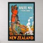New Zealand Vintage Advert Print