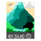 New Zealand vintage design Postcard