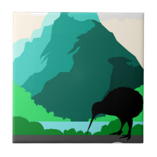 New Zealand vintage design Tile